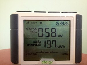Monitoring energy use