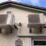 External low carbon Air-to-air heat pump units